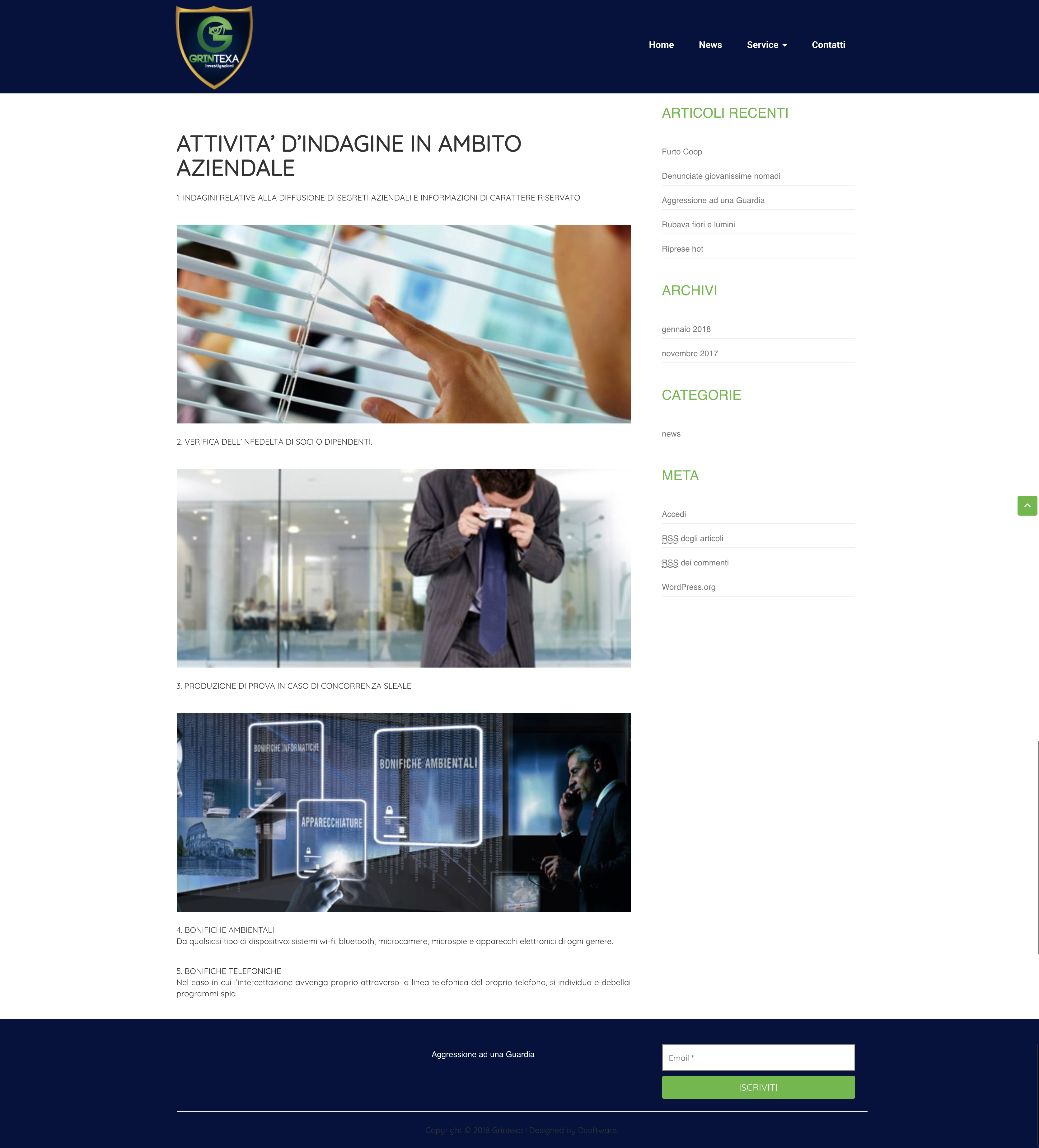 progetto dsoftware